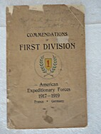 Commendations of First Division, American…