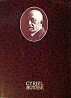 Cyriel Buysse 1859-1932
