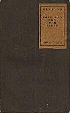 Novellen von der Liebe by Klabund