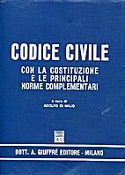 CODICE CIVILE - con la Costituzione e le…