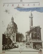 Piranesi e la veduta del Settecento a Roma :…