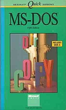 MS-DOS by Van Wolverton
