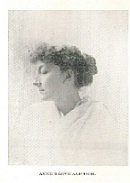 Author photo. Anne Reeve Aldrich (1866-1892) Buffalo Electrotype and Engraving Co., Buffalo, N.Y.
