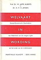 Welvaart in wording : sociaal-economische…