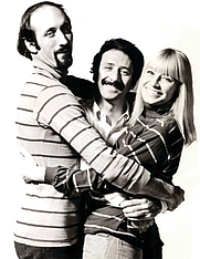Author photo. Promotional photo of Peter, Paul, and Mary, circa 1968.