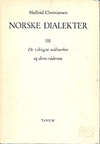 Norske dialekter III. De viktigste…