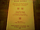 Rare Books...From the Library of the Late…