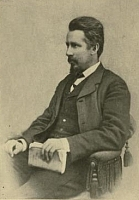 Author photo. Photograph in frontispiece of Fragments from old letters, - E.D. to E.D.W., 1869-1892 Book by Edward Dowden (published 1914)