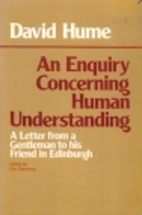 An Enquiry Concerning Human Understanding by…