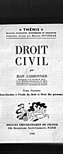 Droit civil. Tome premier. Introduction à…