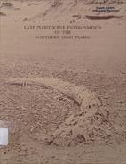 Late Pleistocene Environments of the…