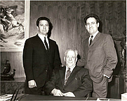 Author photo. George Fiusdale Jowett (centre)