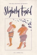 Slightly Foxed 2: An Odd Sort of Comfort by…