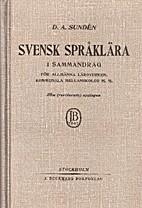 Svensk språklära i sammandrag : För…