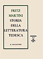 Storia della letteratura tedesca by Italo…