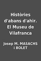 Històries d'abans d'ahir. El Museu de…