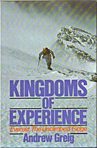 Kingdoms of Experience by Andrew Greig