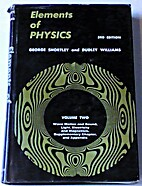 Elements of physics for students of science…