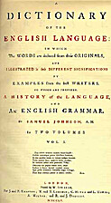 A Dictionary of the English Language by…