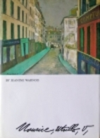 Maurice Utrillo by Jeanine Warnod