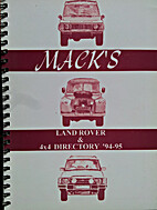 Mack's Land Rover Directory: 1994-1995 by…