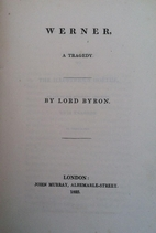 Werner by Lord Byron
