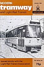 Modern Tramway and Light Rail Transit, vol.…