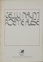 Poeme alese by Gellu Naum