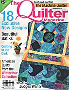 The Quilter Magazine September 2010