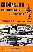 Chemins de Fer Régionaux et Urbains n°112…
