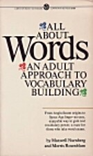 All About Words: An Adult Approach to…