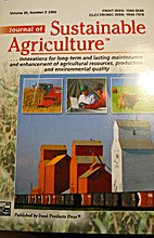 Journal of sustainable agriculture