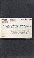 (can) Escape from Iran : the Canadian caper…
