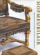 Hofmeubilair : negentiende-eeuwse meubelen…