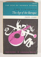 The Age of the Baroque 1610-1660 (The Rise…
