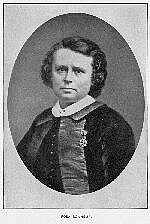 """Author photo. From """"Lives of Girls Who Became Famous,"""" Sarah Bolton, 1914 Project Gutenberg"""