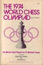 1974 World Chess Olympiad Nice, France by R.…