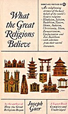 What the Great Religions Believe by Joseph…