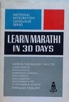 Learn Marathi in 30 days by Sanjay