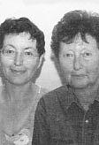 Author photo. Claude Izner: Liliane Korb & Laurence Lefèvre