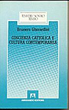 Coscienza cattolica e cultura contemporanea…