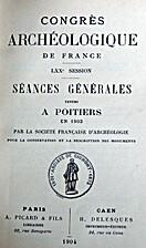 France: 1903, 70e Congrès archéologique de…