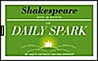 Shakespeare Warm Up Activities (Daily Spark)…