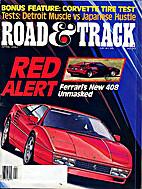 Road & Track 1987-04 (April 1987) Vol. 38…