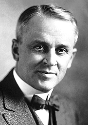 Author photo. Robert Andrews Millikan in 1923 [credit: Nobel Foundation]