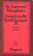 Sämtliche Erzählungen III. Ashendens…