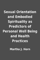 Sexual Orientation and Embodied Spirituality…