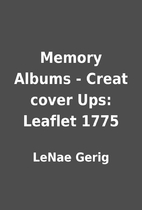 Memory Albums - Creat cover Ups: Leaflet…