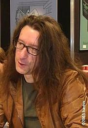 Author photo. Herman Brusselmans (Herman Frans Martha ; 1957-) photograph by bartvs, Antwerpen, November 5th, 2005.