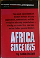 Africa Since 1875: A Modern History (Hist of…